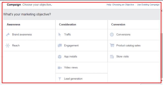 Logika Sederhana Memilih Objective Facebook Ads - 1