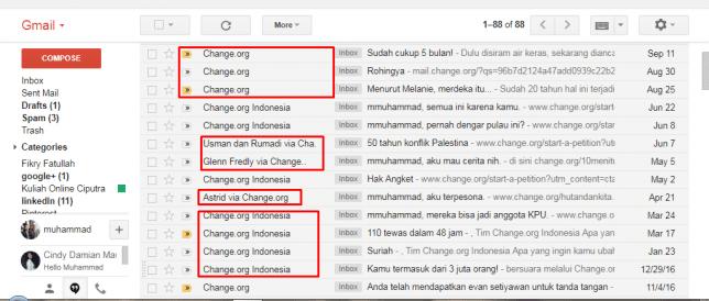pola ke-1 dari 6 pola subject email change org
