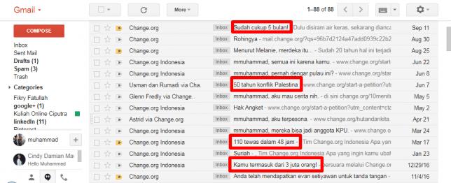 pola ke-4 dari 6 pola subject email change org