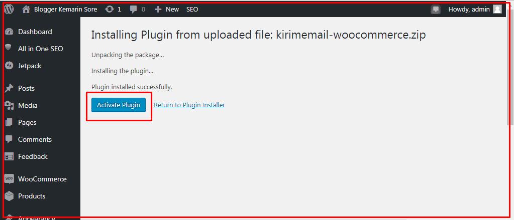 Tutorial Menggunakan KIRIM.EMAIL Woocommerce Plugin - 4