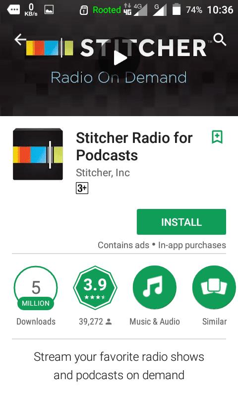 Tutorial Mendengarkan KEPO-KIRIM.EMAIL Podcast Dari HP Android Anda - 14