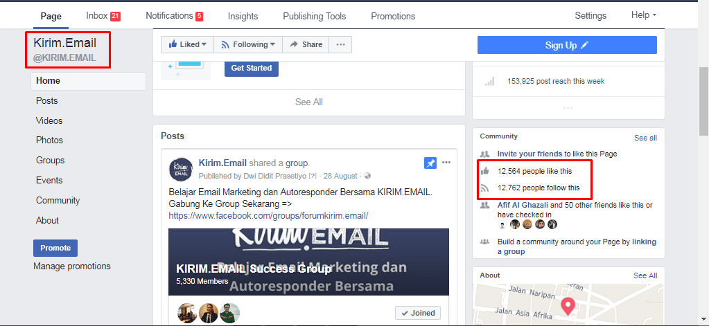 SS Fb Page - Sosial Media vs Email