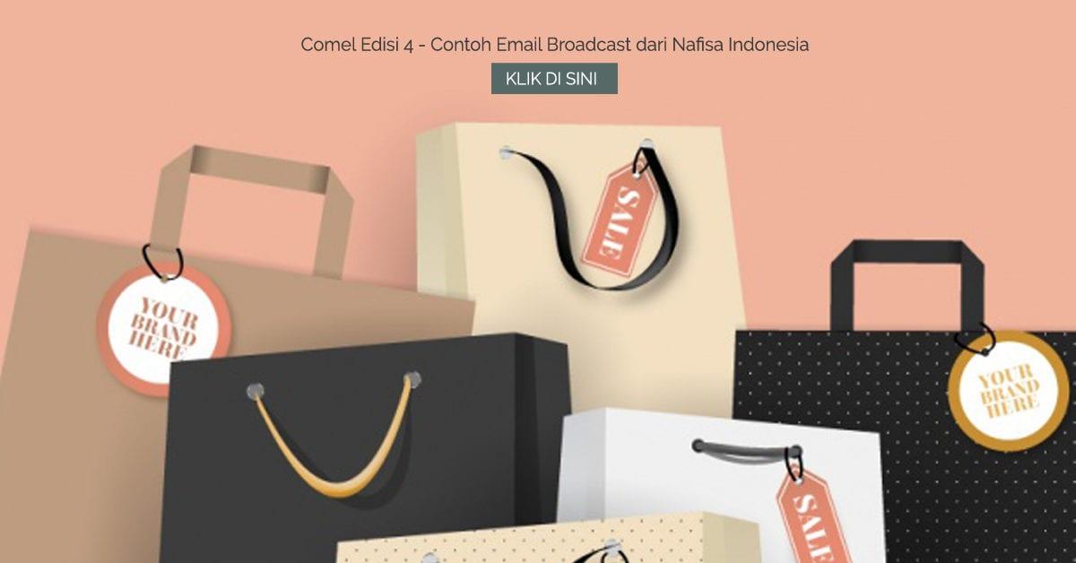 Comel Edisi 4 - Contoh Email Broadcast dari Nafisa Indonesia