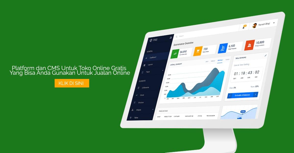 Platform dan CMS Untuk Toko Online Gratis Yang Bisa Anda Gunakan Untuk Jualan Online