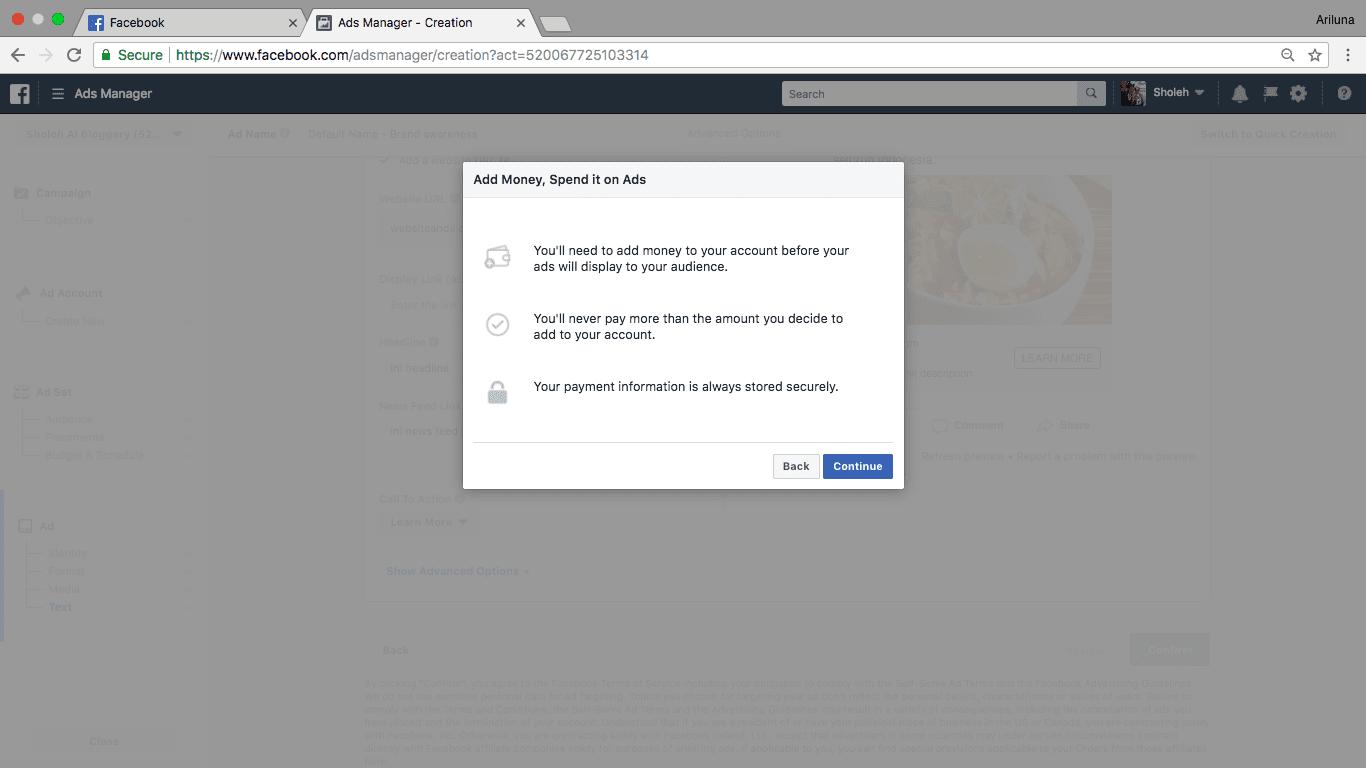Cara Membuat Iklan Di Facebook Lengkap Gratis Dan Bisa Langsung