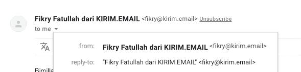 contoh alamat email dengan domain sendiri