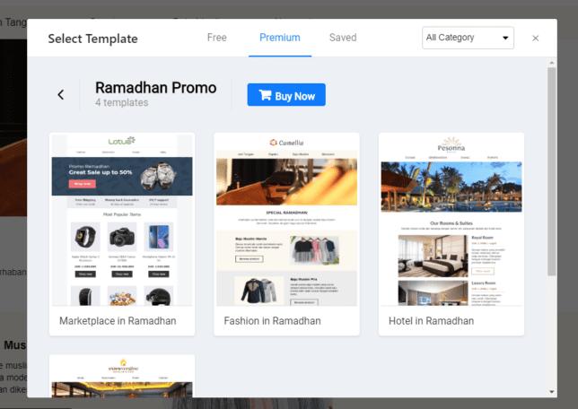 Template Premium Untuk Email Promosi Anda Di Bulan Ramadhan - 1