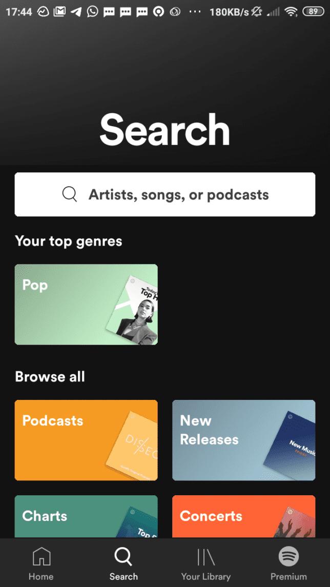 Tutorial Mendengarkan KEPO-KIRIM.EMAIL Podcast Dari Spotify - 1