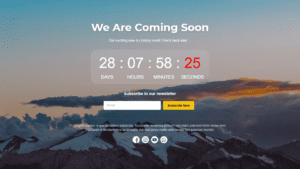 """[Pengumuman] Template Landing Page """"Coming Soon"""" Untuk Anda - 3"""