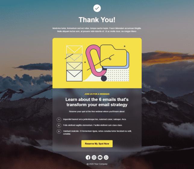 """[Pengumuman] Template Landing Page """"Thank You Page"""" Untuk Anda - 2"""