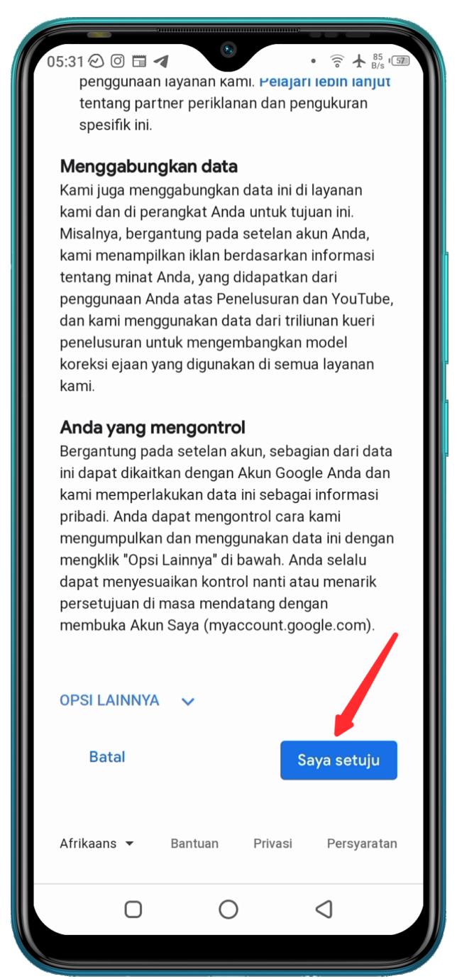 Cara Membuat Email Baru di HP Android - 5