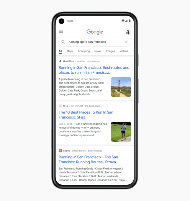 Google Desain Ulang Tampilan Search Results di Smartphone - 3