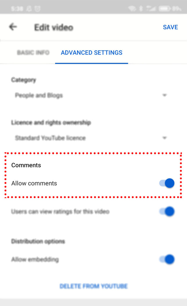 Cara Menonaktifkan dan Mengaktifkan Komentar di YouTube lewat HP dan PC - 16