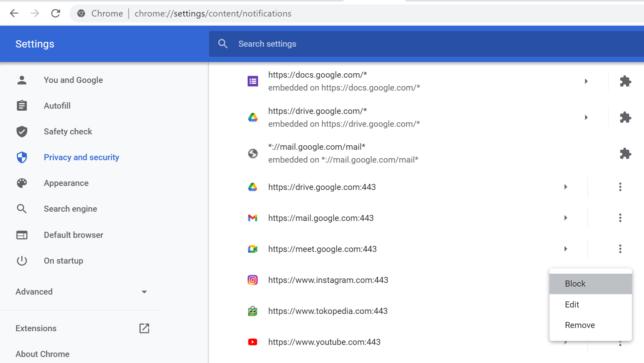 Cara Menghilangkan Spam Iklan di Google Chrome - 9