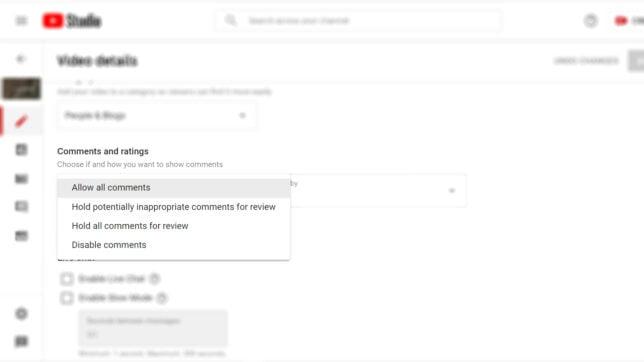 Cara Menonaktifkan dan Mengaktifkan Komentar di YouTube lewat HP dan PC - 7